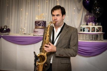 Solo Sax! - photo by Colin Ince